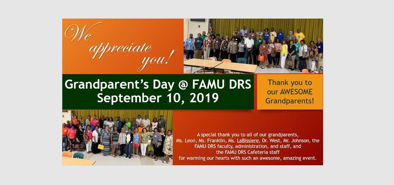 Grandparent's Day at FAMU DRS Featured Photo