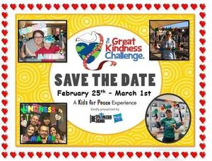 Save the date for Kindness Week
