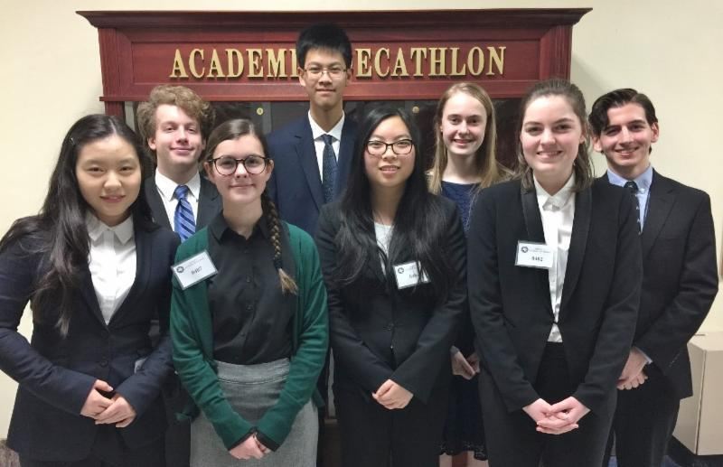 Academic Decathlon team aces regional meet, heads to state in March Featured Photo