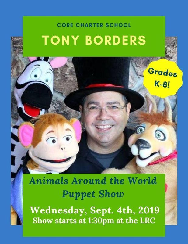 Puppet Show Flyer