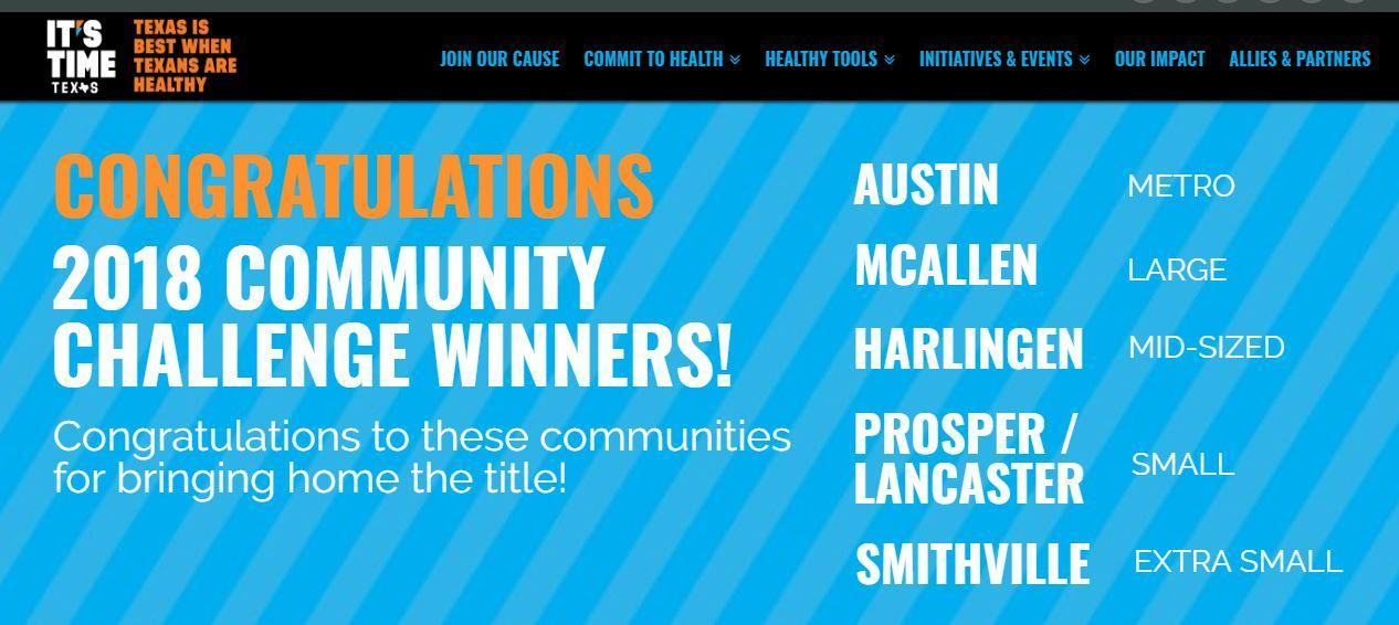 McAllen ISD SHAC State Winner!