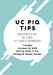 UC PIQ TIPS thumbnail picture