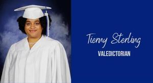 Tierny Sterling, Valedictorian