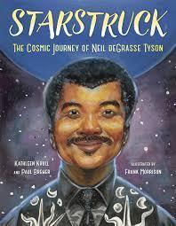 African American man against night sky