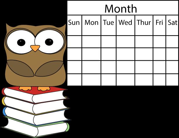Image of calendar clipart