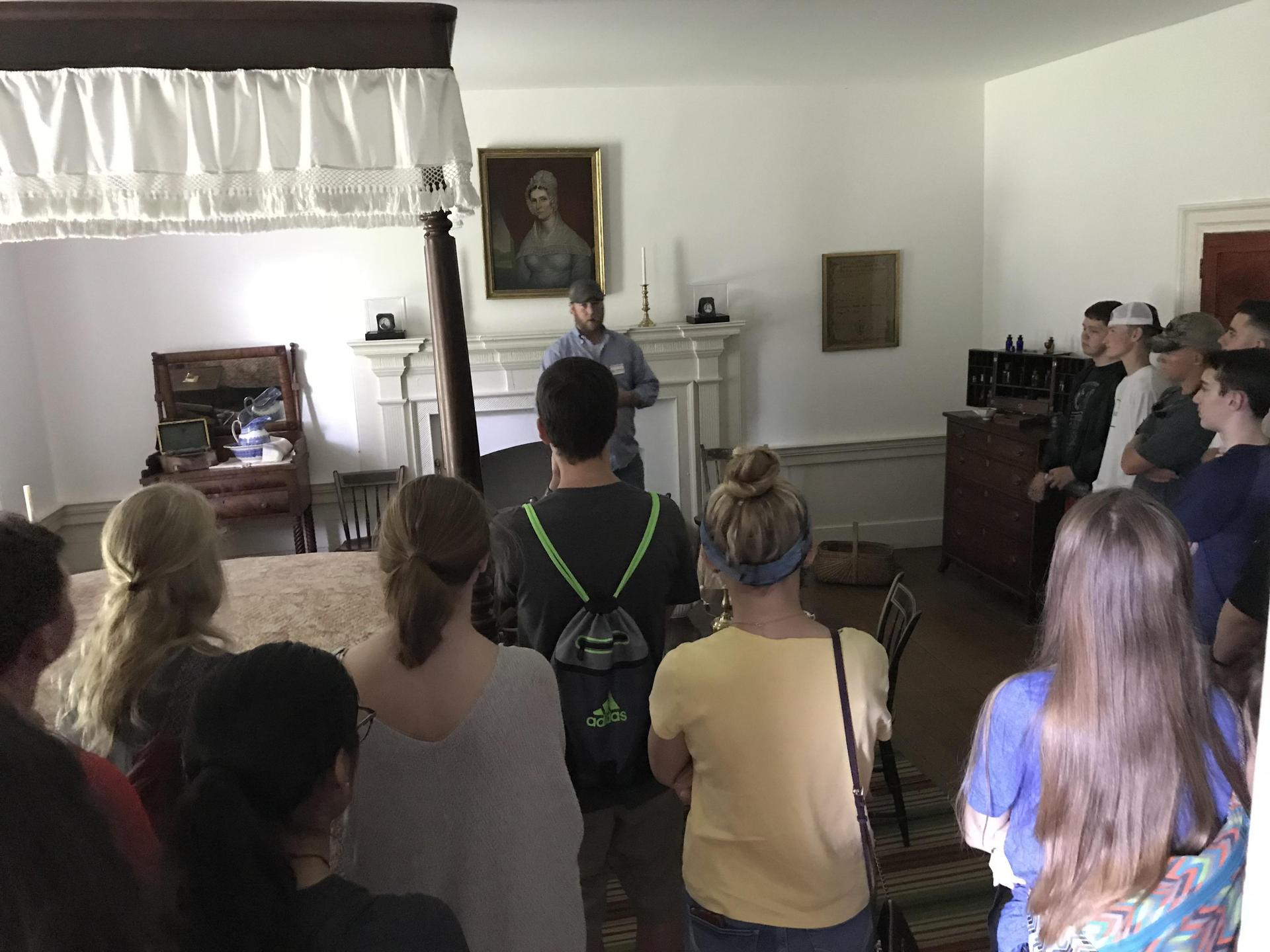 Historical Society visits Traveller's Rest, the home of John Overton