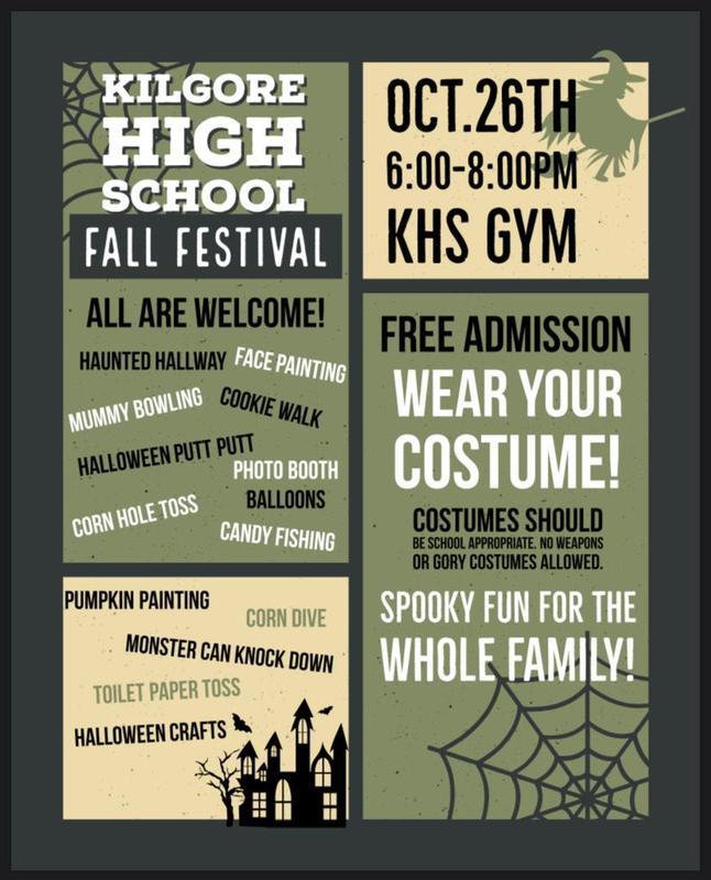 Kilgore High School Fall Festival Featured Photo