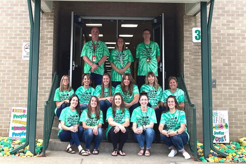 staff of Trafford Elementary School