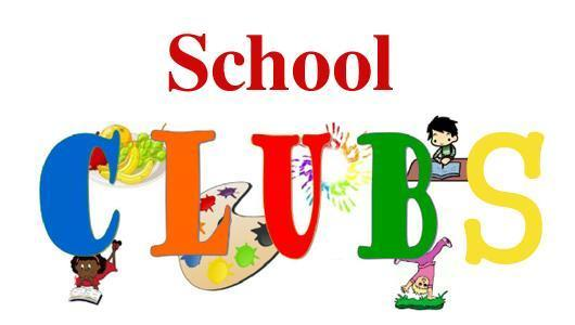 image and wording for school clubs