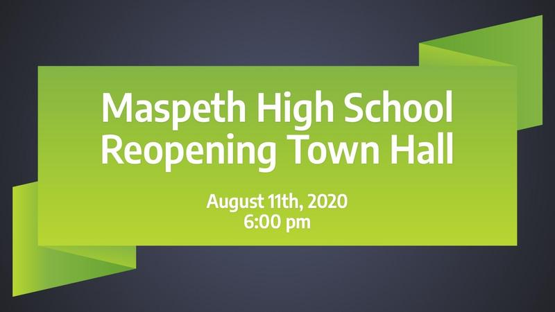 image of Town Hall opening slide
