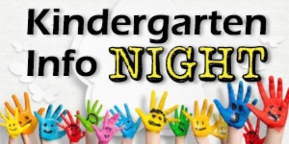 Kindergarten Info Night