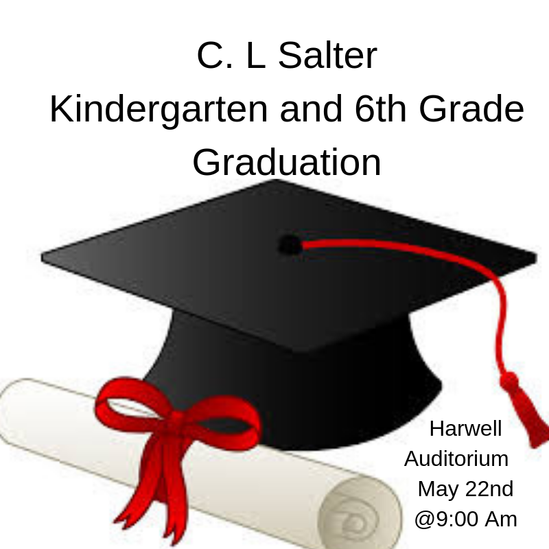 Kindergarten and 6th Grade Graduation