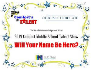 Comfort's Got Talent