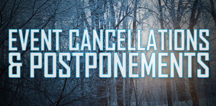 Event Cancellation and Postponement Logo