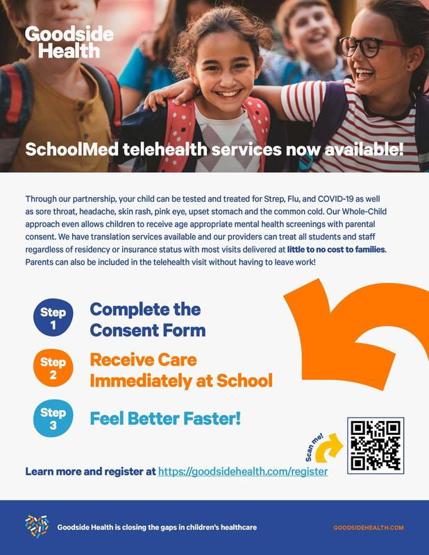 SchoolMed telehealth services now available Featured Photo