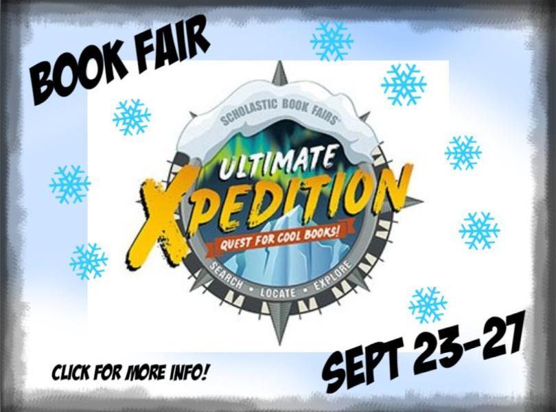 Book fair Sept 23-27