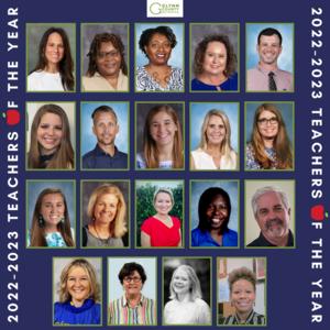 2022-2023 Teachers of the Year