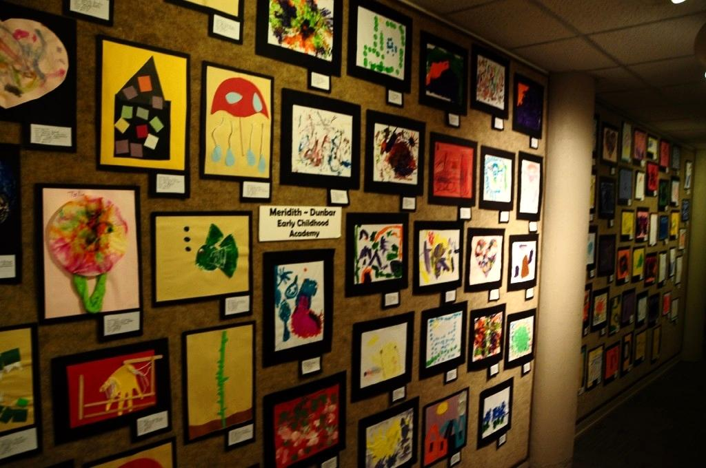 This Is Artwork By Temple Isd Students Displayed As Part Of The 2017 Floor To Ceiling Art Show At Cultural Activities Center In