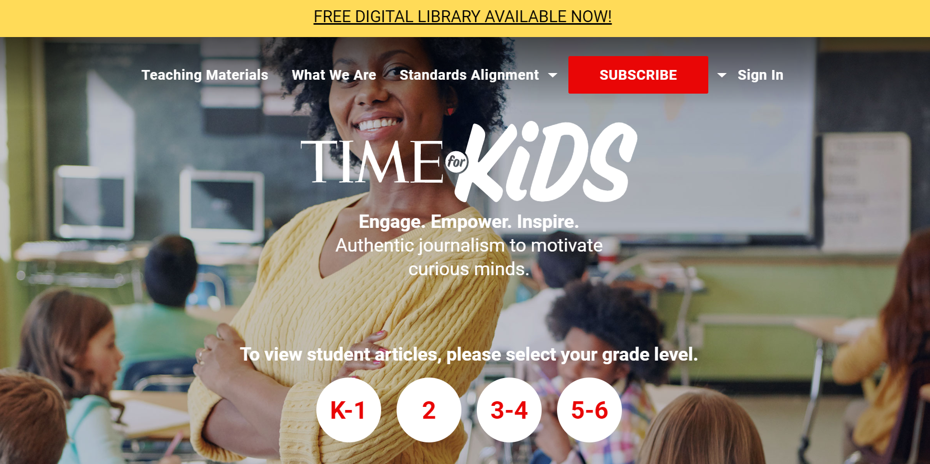 Time for kids is Free