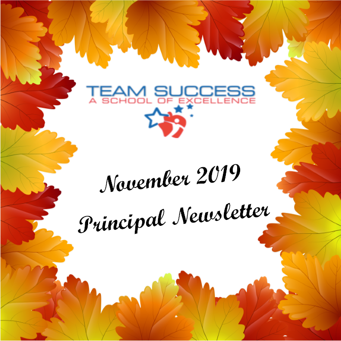 November 2019 Principal Newsletter Featured Photo