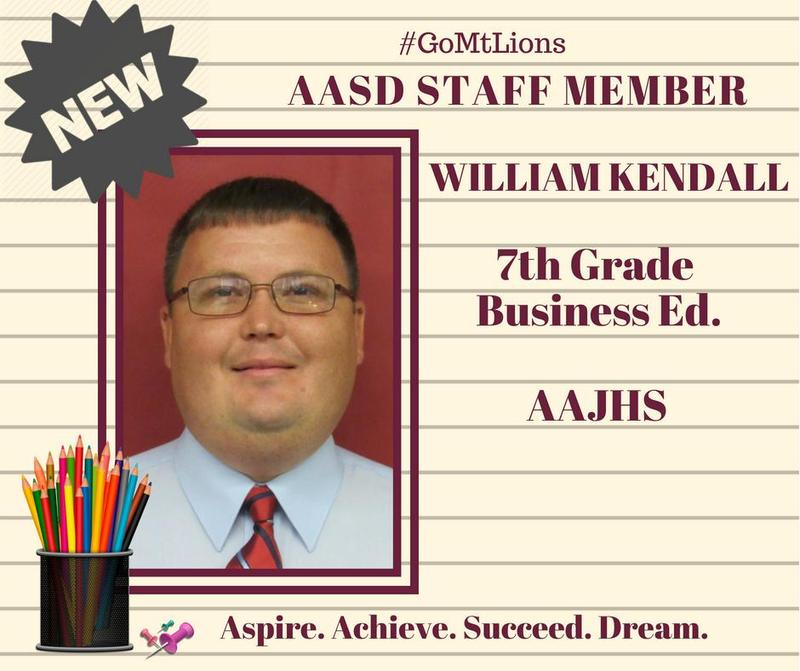 AASD Welcomes William Kendall Thumbnail Image