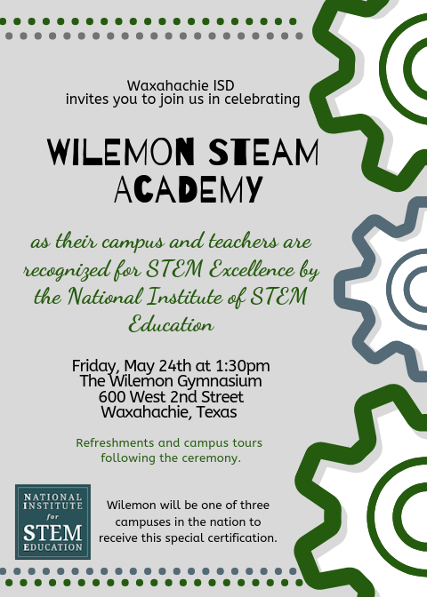 Wilemon STEAM Academy NISE Ceremony.png