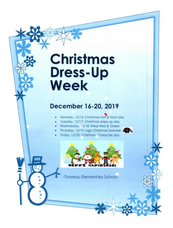 Christmas Dress-Up Week: Dec. 16-20, 2019 Featured Photo