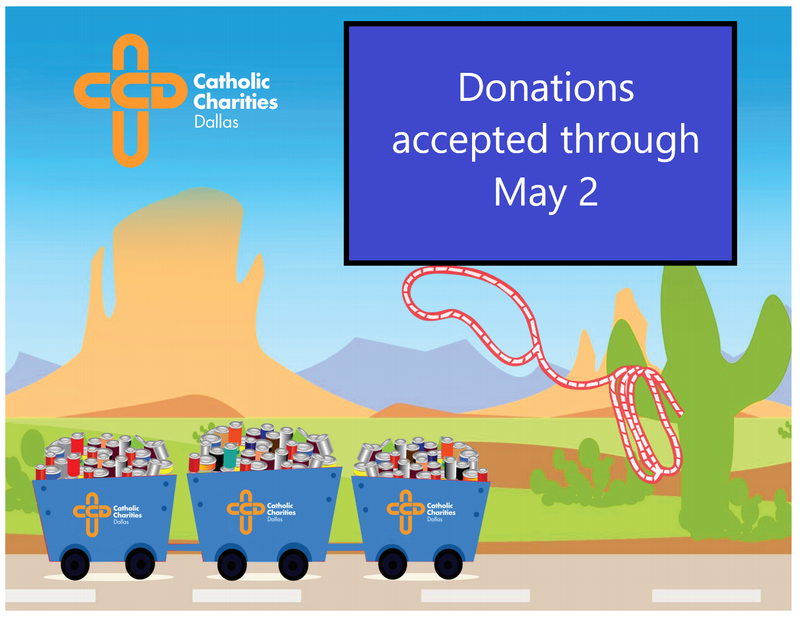 St. Rita Outreach is Collecting Food for Catholic Charities Thumbnail Image