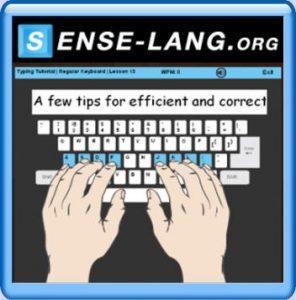 Senselang Typing