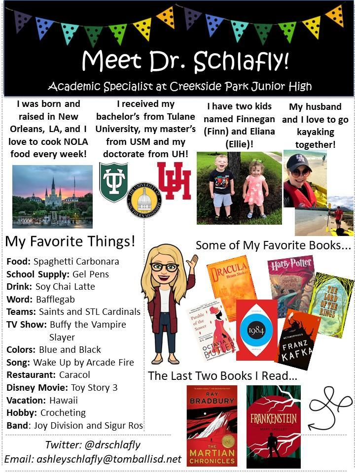Meet Dr. Schlafly!