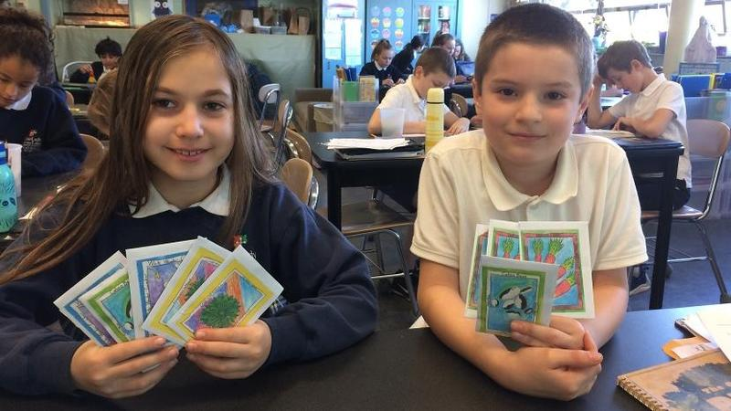 NW Catholic: Our Lady of the Lake Students Sell Seeds to Help Sister School in Nicaragua Featured Photo