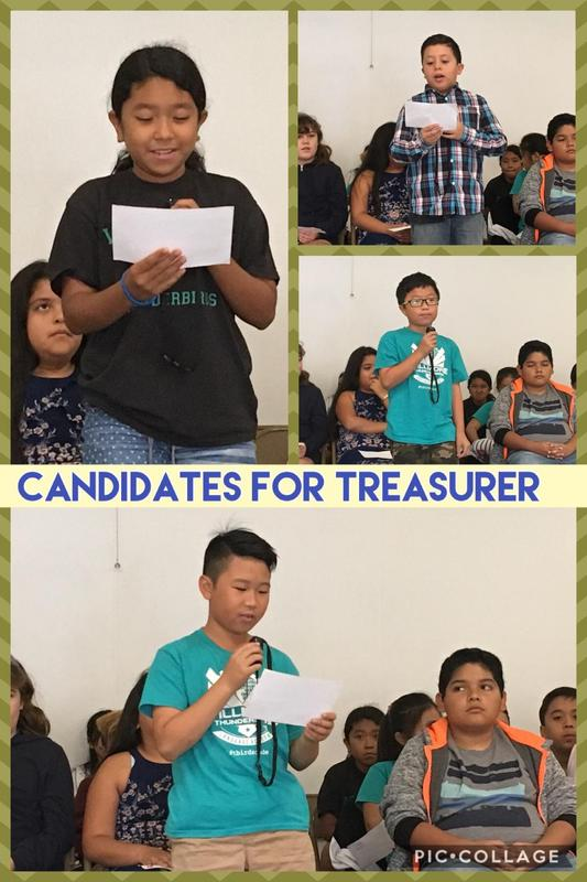 Candidates for Treasurer