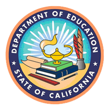 ca dept of education logo