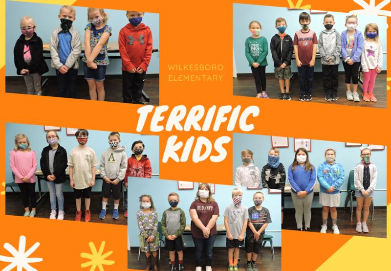 1st Quarter Terrific Kids