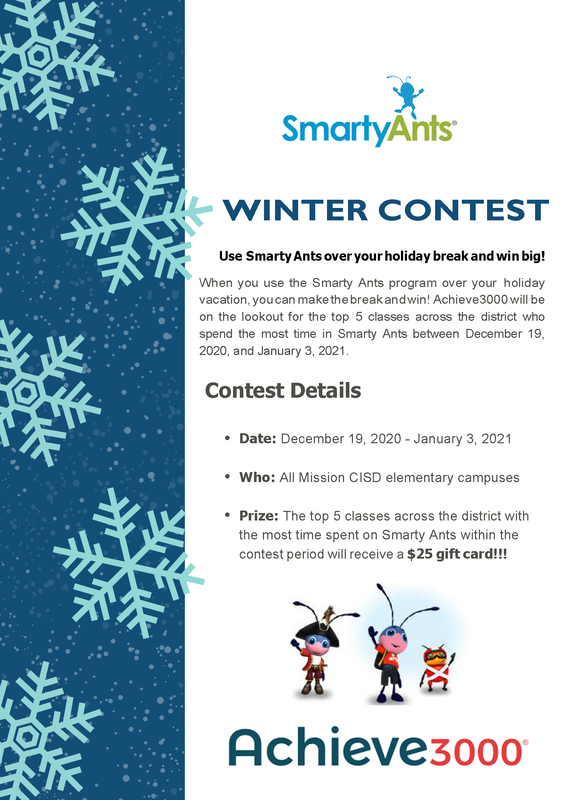 Smarty Ants Winter Contest