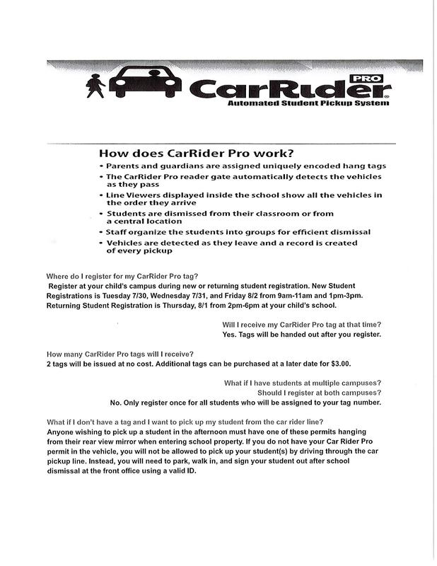 Car Rider Pro Automated Student Pickup System Thumbnail Image