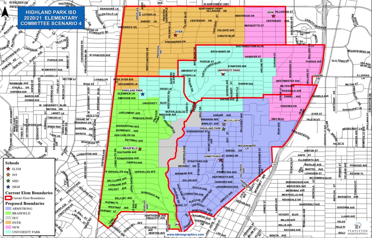 Committee Scenario 4 Map