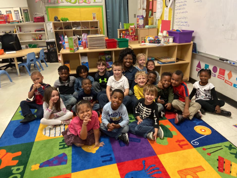 Community Helpers speaks with the F.B. Woodley Featured Photo
