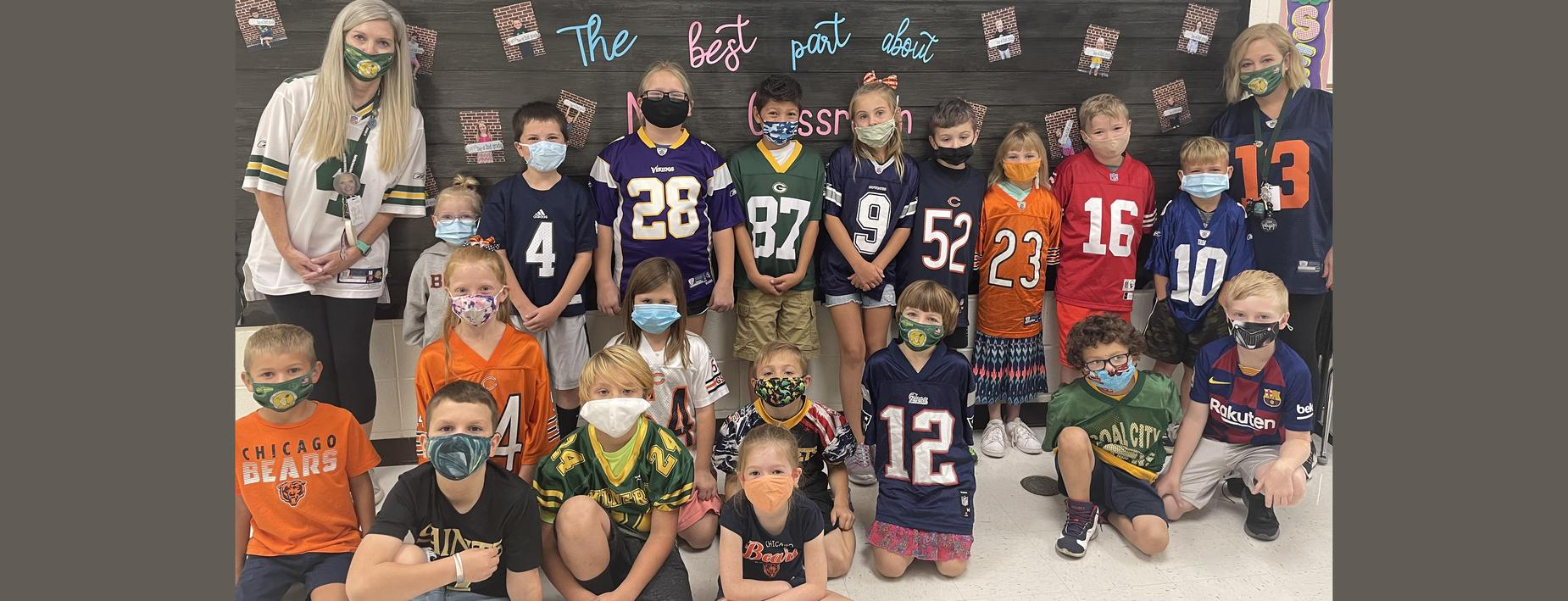 Class shot of NFL day