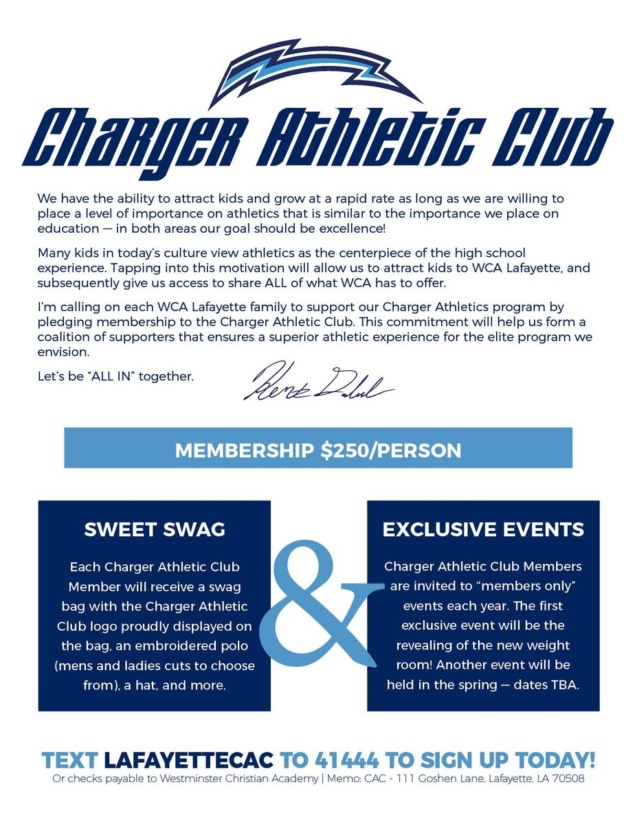 Charger Athletic Club