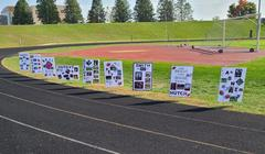 Football Senior Night Signs