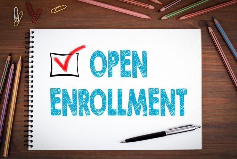 Register today, Open Enrollment! Thumbnail Image