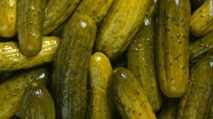 picture of green pickled no wording