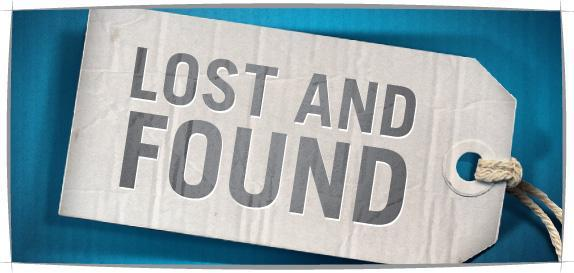 LOST AND FOUND! Featured Photo