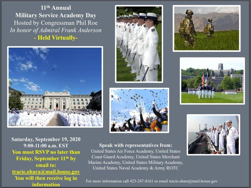 Military Service Academy Day.