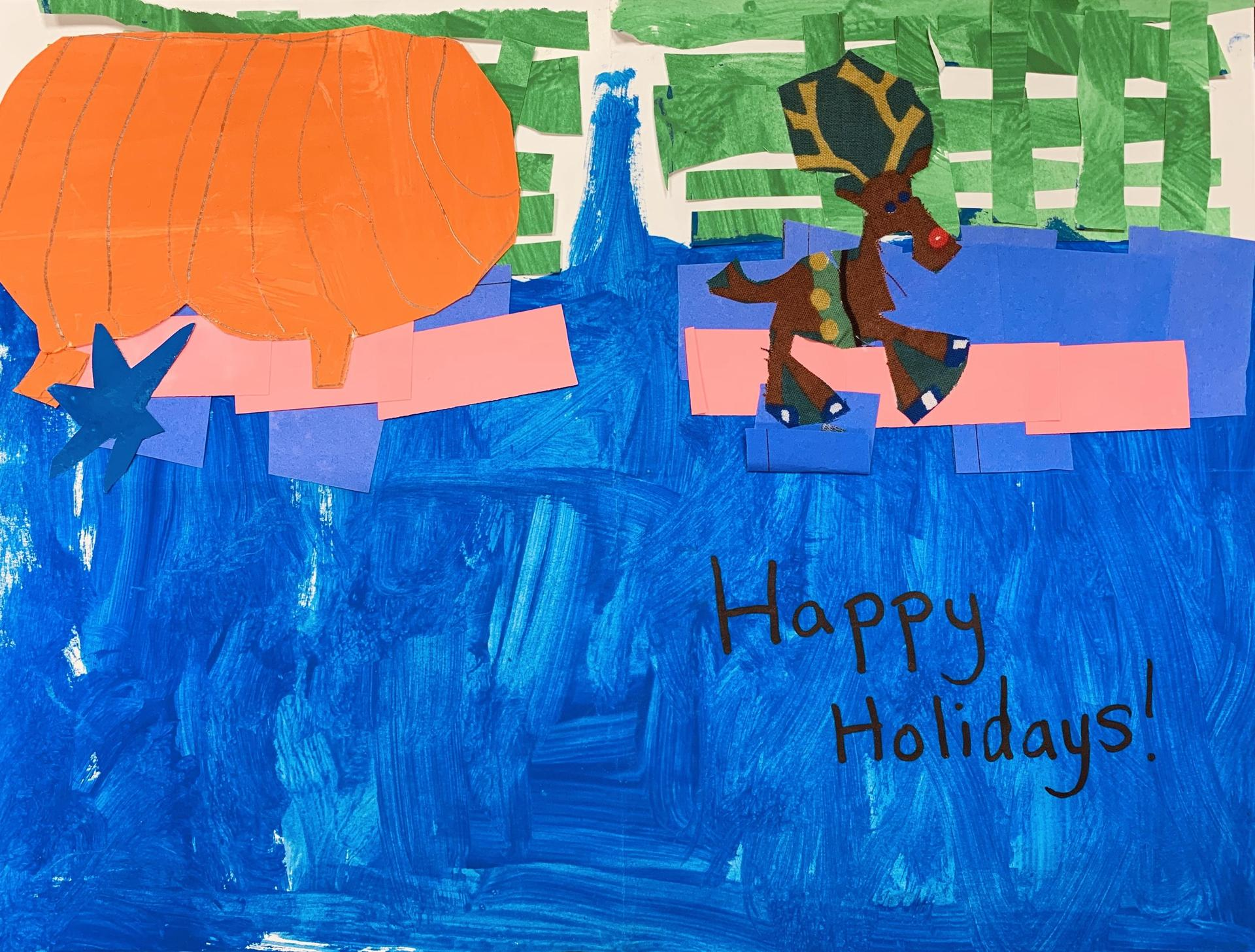 Holiday Card:  Charlee Farruggia, Southwood Elementary