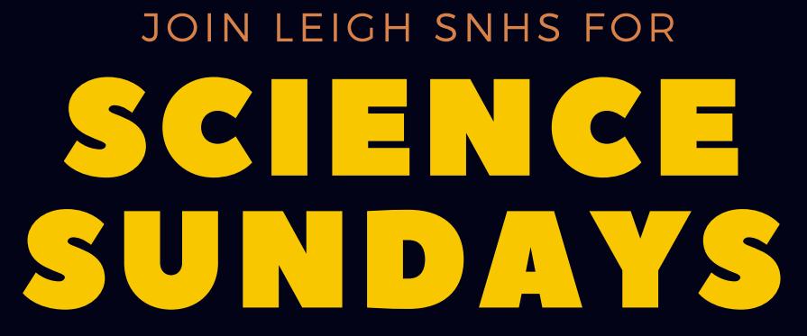 Science Sundays logo