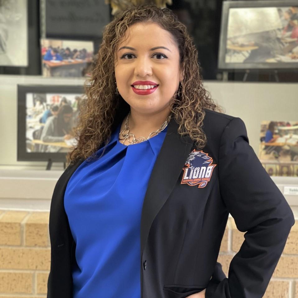 Ms. Casas, Curriculum Assistant