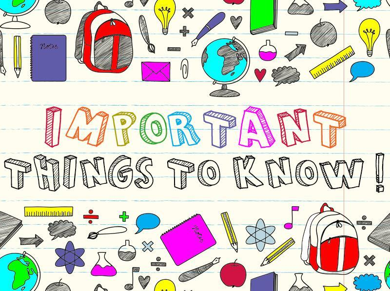 Family Newsletter - Important Information for 2021-2022 School Year! Thumbnail Image