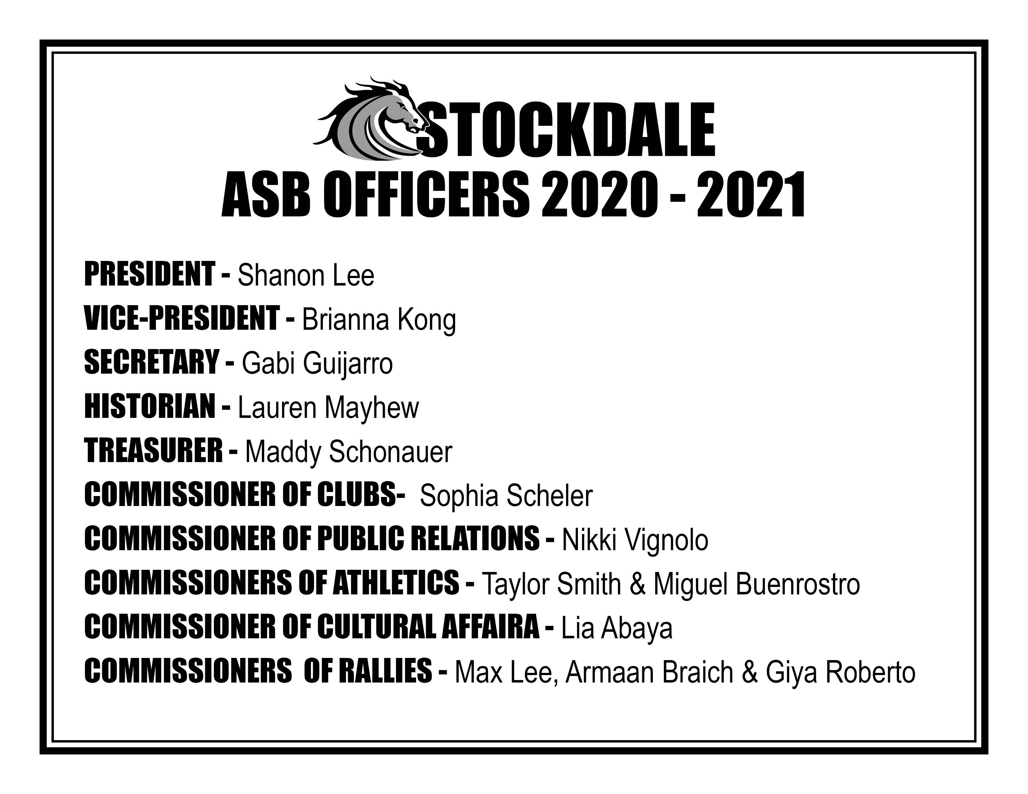 ASB Officers